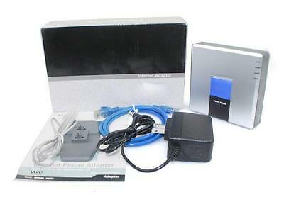 Unlocked PAP2T-NA SIP VOIP Phone Adapter 2 Port Internet Phone