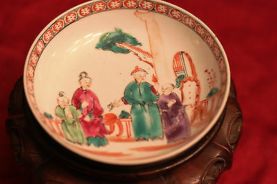 Fine Antique Chinese 18Th Century China Trade Plate Rare