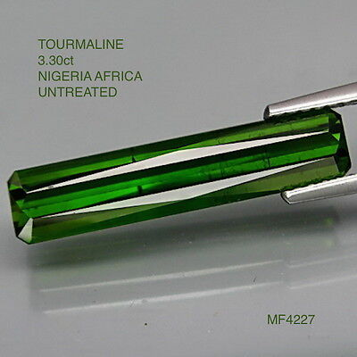 TOURMALINE NATURAL MINED UNTREATED STONE  3.30Ct