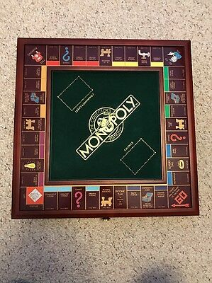 Franklin Mint Collectors Edition Monopoly Board Original Box