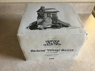 Department 56 Dickens Village Heritage Collection The Maltings 1995 #58335