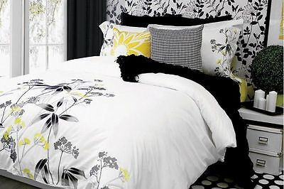 Embroidered 3 Pcs Duvet Cover Set 100% Cotton 220 Thread Count From Canada