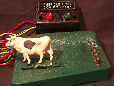 "American Flyer Gilbert # 23791 "" Cow On The Track"" Operating Accessory"
