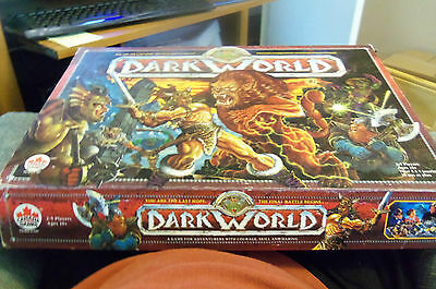 dark world board game Not Complete PARTS LOT