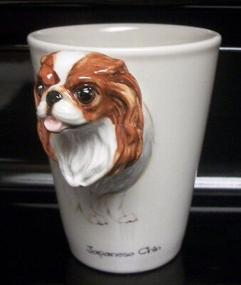 Japanese Chin Dog 3D Coffee Mug by Blue Witch. Excellent Condition