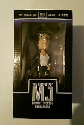 Michael Jackson The King of Pop Bobble Head New in Box