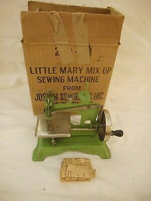 Little Mary Mix Up Sewing Machine Number 293 By Joseph Schneider RARE