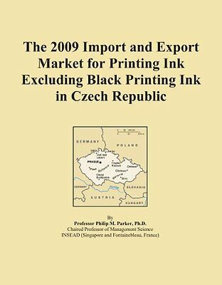 The 2009 Import and Export Market for Printing Ink Excluding Black Printing Ink