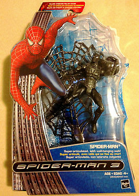 Spider-Man 3 Action Figure With Spinning Web! Hasbro Pn 66420100