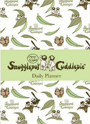 May Gibbs Snugglepot & Cuddlepie Official Daily Planner Paper Pocket UNDATED NEW