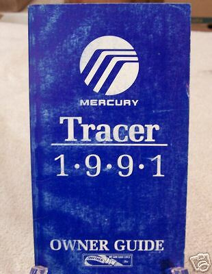 **NEW** 1991 Mercury Tracer Owners Manual 91