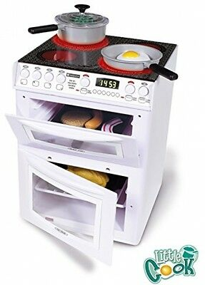 Casdon HOTPOINT ELECTRIC COOKER Children Oven Grill Toy Kid Gift Role Play White