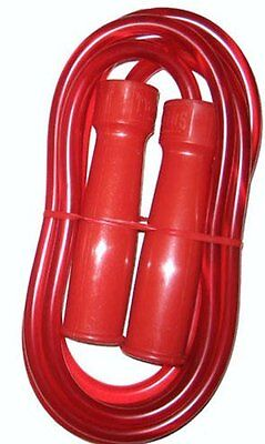 TWINS Muay Thai Jump Rope High Quality Jump Rope/Skipping Rope (RED)