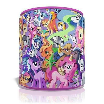 "My Little Pony Small Light Ceiling Lamp Shade 8"" Girls Kids Room  Free P&p"