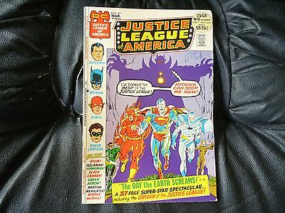 Justice League of America # 97 really nice condition origin story included