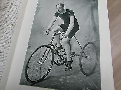 Cycling World Illustrated 1896-1897 Many Photo's, Book, Track, Glorious History!