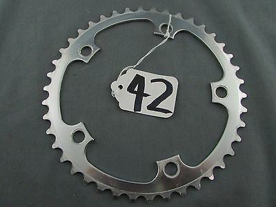 OLD SCHOOL 130mm BCD INNER CHAINRING 42T ALLOY 3/32nd (42)