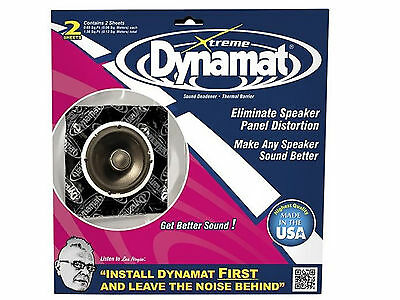 Dynamat 10415 Xtreme Speaker Kit Dämmungs- und Isoliermaterial