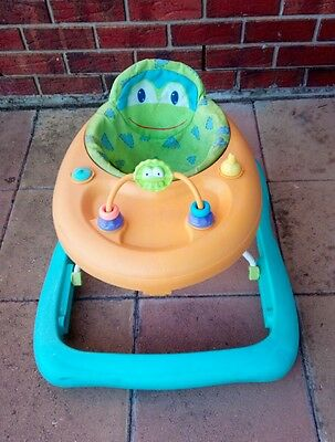 USED BRIGHT STARTS Colourful Baby Infant Walker with Toy RP$119
