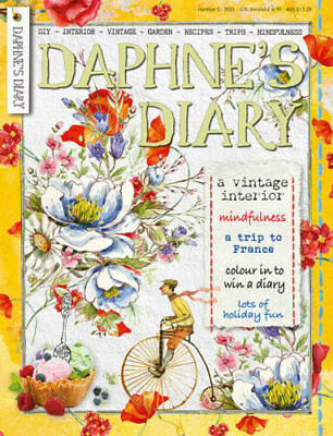 Daphne's Diary Magazine with Easter Stickers - Issue 2 2018 - NEW