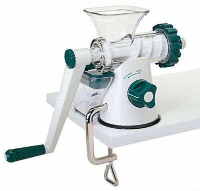Manual Healthy Wheatgrass Juicer - Lexen Leafy Vegetables Operate and Clean