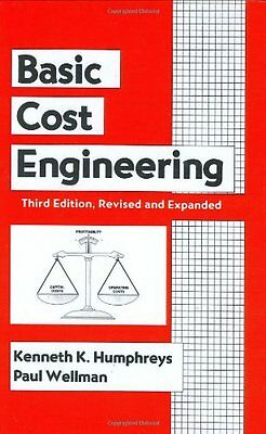 Basic Cost Engineering, Third Edition Copertina rigida