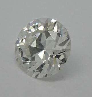 Loose Gia Certified 0.56Ct Old Round Brilliant Cut Diamond Si1/g