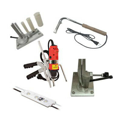 Metal Channel Letter Making Starter Set Bender,Slotter,Soldering Iron,Module