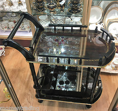 Coffee Tea Trolley Serving Trolley Cocktail Bar Cart Dining Furniture