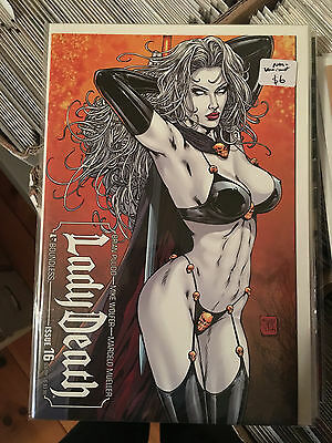 LADY DEATH #16 NM- 1st Print SULTRY VARIANT Boundless Mike Wolfer Brian Pulido