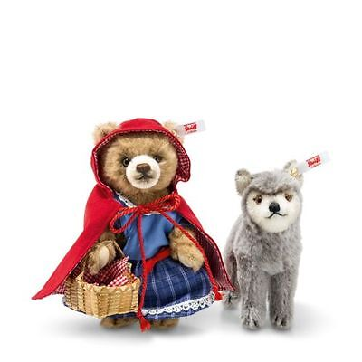 *Pre-order* Steiff Little Red Riding Hood and the Wolf 021350