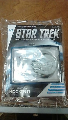 Star Trek Official Starships Collection #91 U.S.S Saratoga NCC-31911