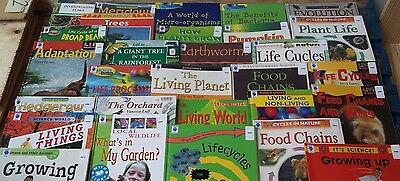 Biology: Box of 29 Children's Educational Books