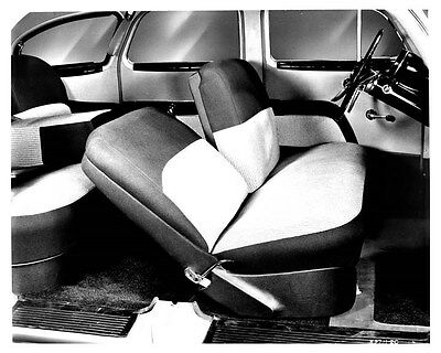 1950 Nash Airflyte Interior ORIGINAL Factory Photo ouc0248