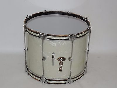 Vintage Slingerland 14 WMP Snare Tenor Drum Mahogany Shell Gold Chicago Badge
