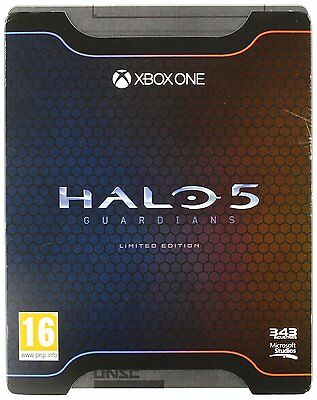 Halo 5 Guardians Limited Edition Xbox One Brand New Factory Sealed