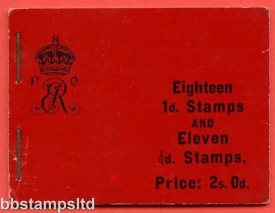 """SG. BA4. """" 2s 0d """". A very fine complete example of this very scarce booklet."""