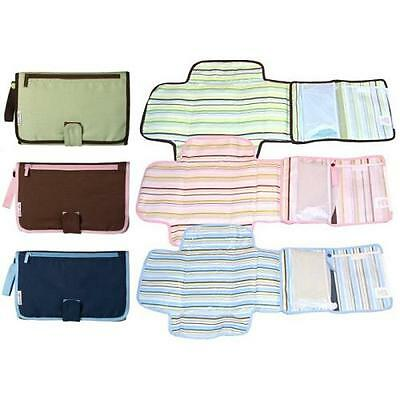Munchkin Baby Changing Mat Travel Nappy Wipes Portable Foldable Compact Designer