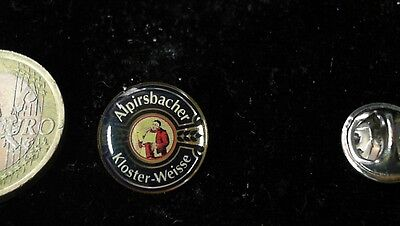 Bier Beer Pin Badge Alpirsbacher Kloster Weisse Logo