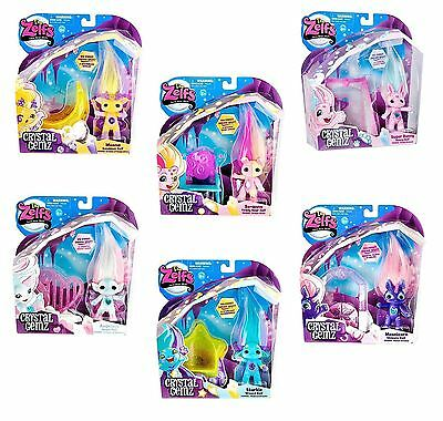New The Zelfs Crystal Gems Series 5 Toy Figure & Accessory Toy Playsets