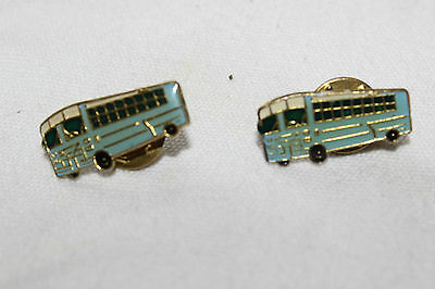 Vintage Passenger Bus Lapel Pin , Transportation