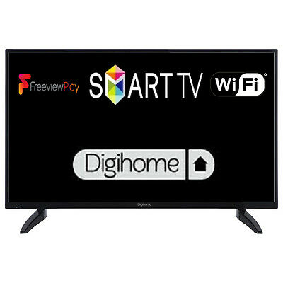 """Digihome 50287dfp 50"""" Smart LED TV Full HD 1080p With Freeview Play & Wi-Fi"""