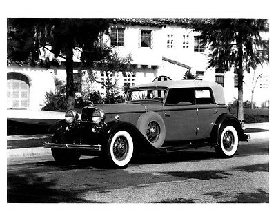 1932 Lincoln Convertible Sedan ORIGINAL Photo by Dietrich ouc0327