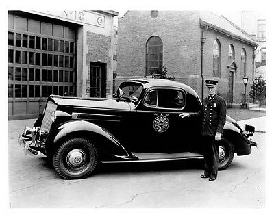 1937 Packard 110 Coupe ORIGINAL Factory Photo ouc0357