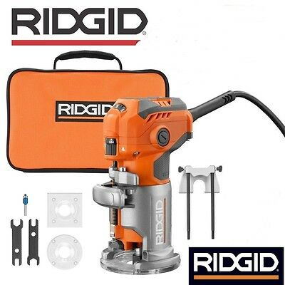 Factory-Reconditioned Ridgid ZRR2401 1.6 HP Laminate Trimmer W Warranty