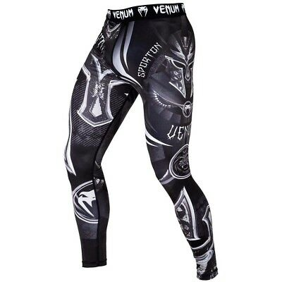 VENUM Compression Pants, Gladiator 3.0, schwarz, Trainingshosen, MMA, Muay Thai