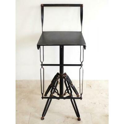 Set Of 2 Industrial Style Pipe Work Interior Bar Chair or Breakfast Stool