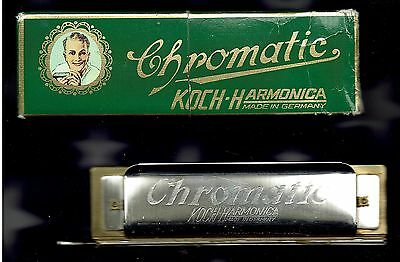 KOCH-HARMONICA  CHROMATIC  Made in Germany