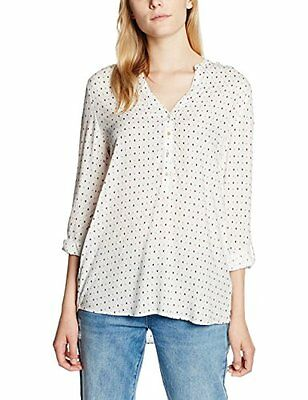Bianco (OFF WHITE 110) (TG. 42) ESPRIT 996EE1F902, Camicia Donna, Bianco (OFF WH
