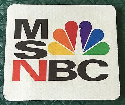 EXC. ORIG 1996 MSNBC NETWORK LAUNCH PROMO 8x7 MOUSE PAD COLLECTOR'S ITEM!